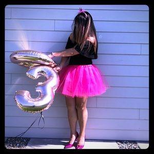 3/$25 - Pink Mini Tutu Skirt